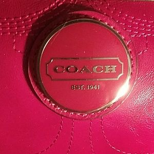Absolutely Gorgeous Coach Red Leather ShoulderBag